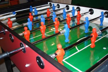 Foosball Table Dimensions & Sizes