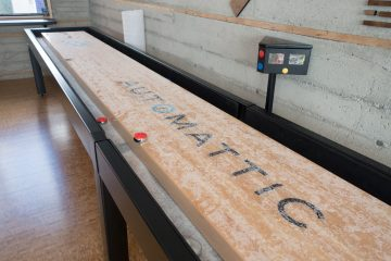 Shuffleboard Alignment How to Check the Level of Your Table